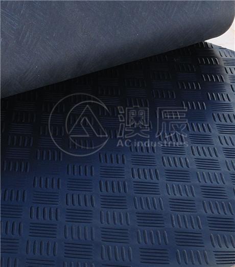 ACS02003 Checker Plate Rubber Sheet