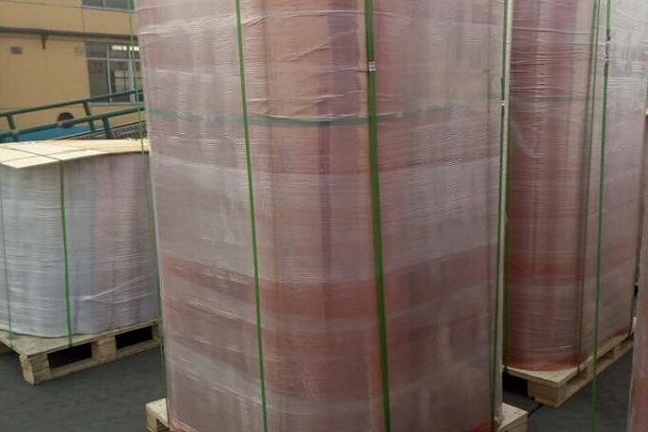 Our SBR rubber sheet was exported to the USA
