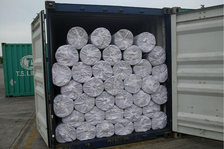 Our anti static rubber sheet will be shipped to Chile
