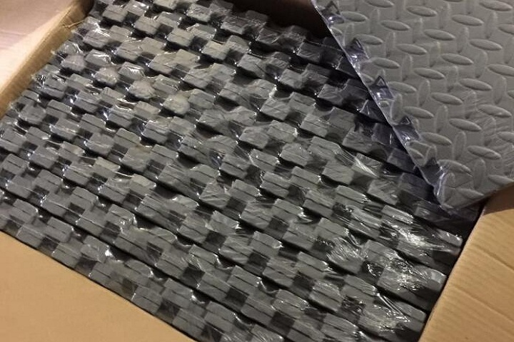 Our EVA stable floor mats will be shipped to the United Kingdom