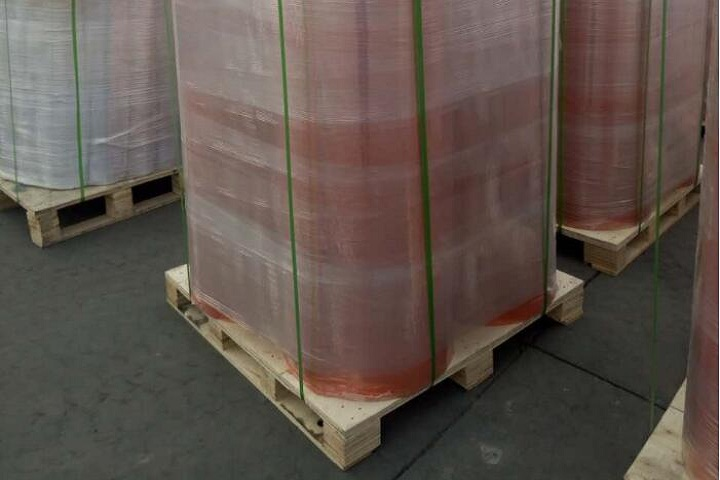 Our board ribber rubber sheet will be shipped to Middle East