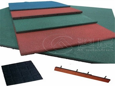 Advantages of playground rubber tile