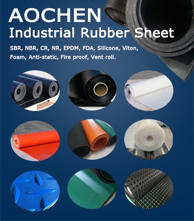Industrial rubber sheet for factory