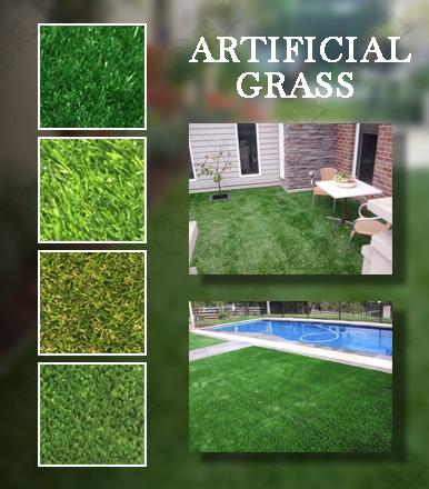ARTIFICIAL GRASS & ARTIFICIAL PLANTS