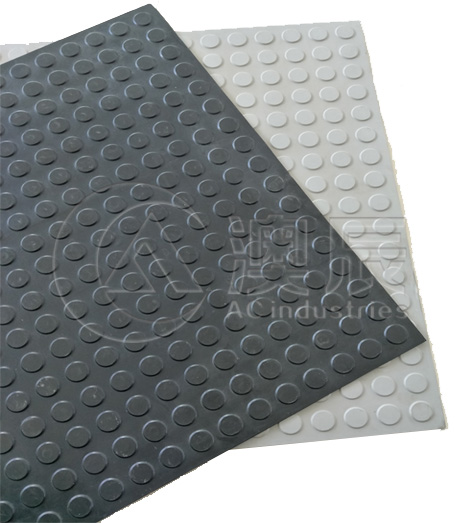 1815 Round Dot Rubber Tile Floor