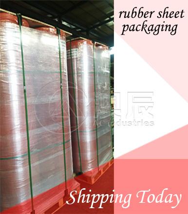 Rubber Sheet Packaging