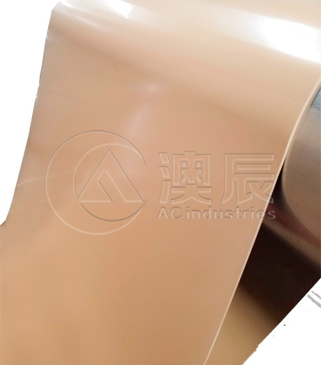 1308 Tan Pure Gum Rubber Sheet
