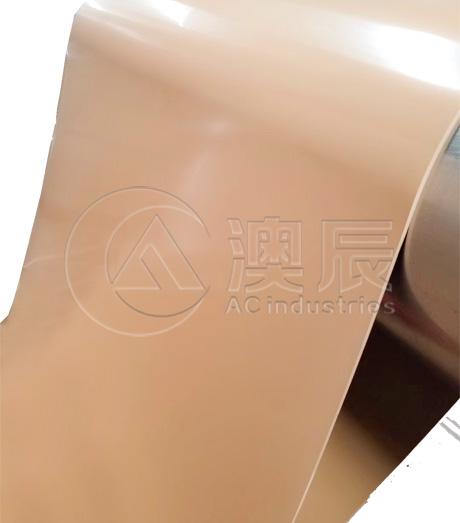 ACS01005-1 Tan Pure Gum Rubber Sheet