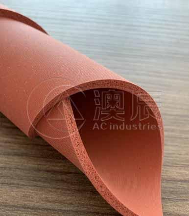 1313 Foam silicone rubber sheet