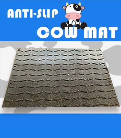 Prepare A Comfortable Anti-slip Cow Mat For your Cattles.