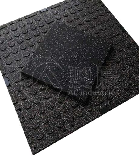 ACM05004-1 Speckled Gym Rubber Tile