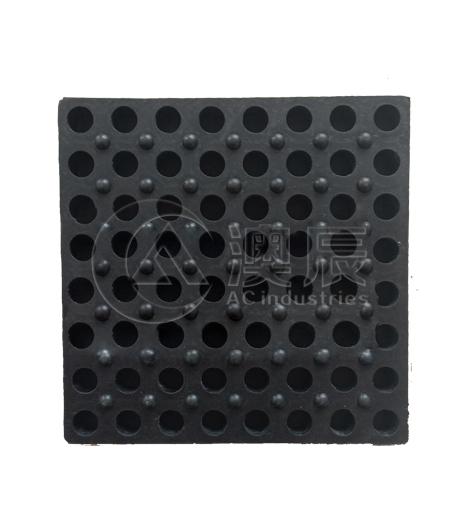 ACM08008-4 Round Hole Shock Pad