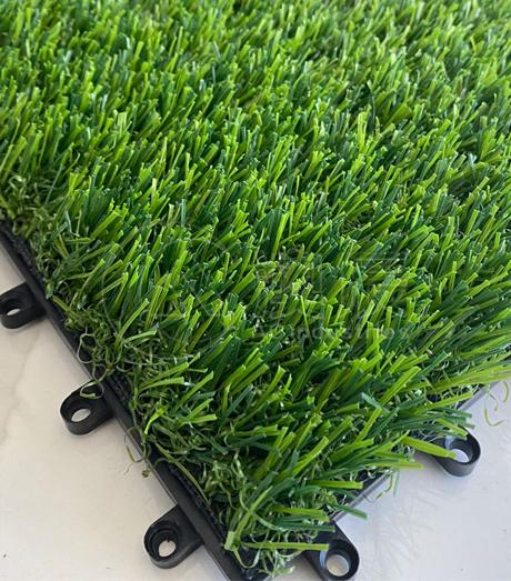 1704 Artificial grass Interlocking Deck Tile