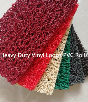 Vinyl loops PVC rolls