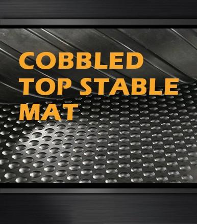 〖COW&HORSE MATS-COBBLED TOP STABLE MAT〗→Features