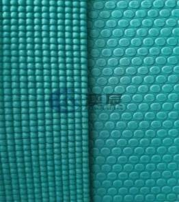 ACE13001-3 HIGH-DENSITY PVC YOGA MAT WITH DOUBLE-COLOR