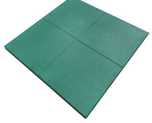 tactile safety rubber tile