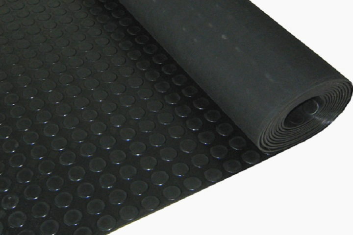 stud round dot rubber sheet