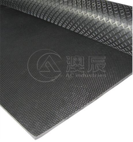 button rubber mat