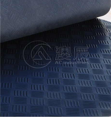 Checker Plate Rubber Sheet