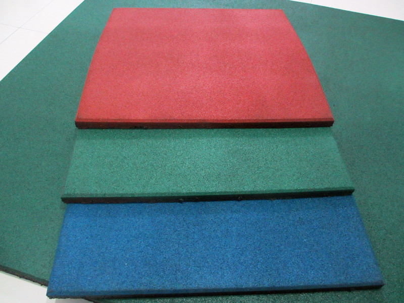 Square Rubber Tile
