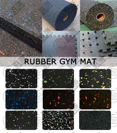 Details of Rubber Gym Mats