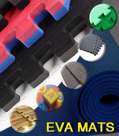 We carefully customize EVA mats for you