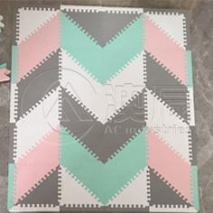 1822 Children mat-Triangular Stitching