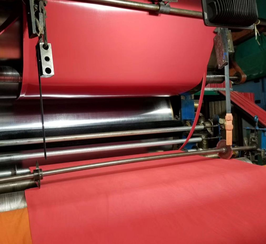 Industrial Rubber Sheet-Red