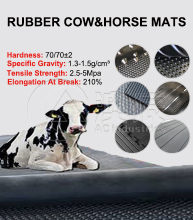 BENEFITS OF AOCEHN RUBBER COW MAT