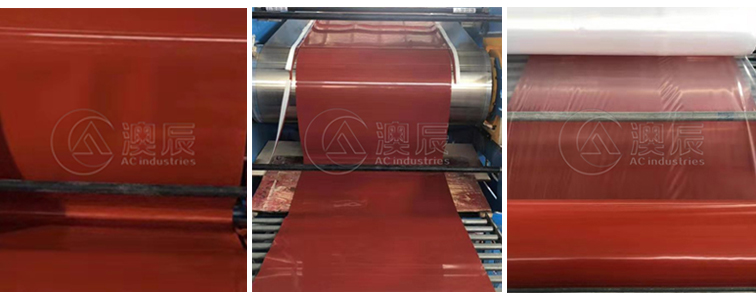 Field factory shooting red silicone Rubber Sheet is amazing!