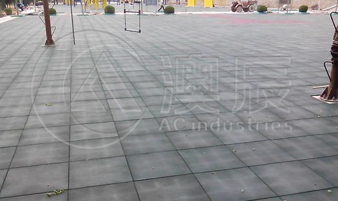 1101 Square Rubber Tile