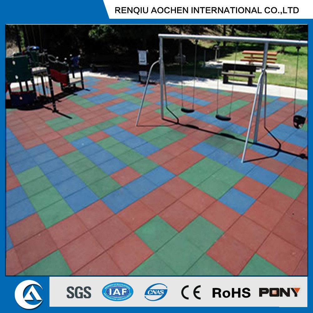 Rubber Tile Introductions and Paving