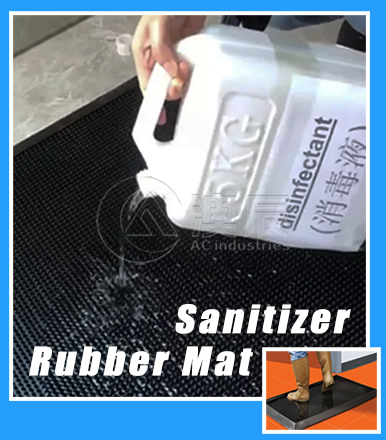 Commercial Rubber Mat To Make Comfortable Work Place