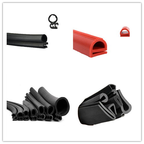 Extruded Rubber Seal With Or Without Metal Insert