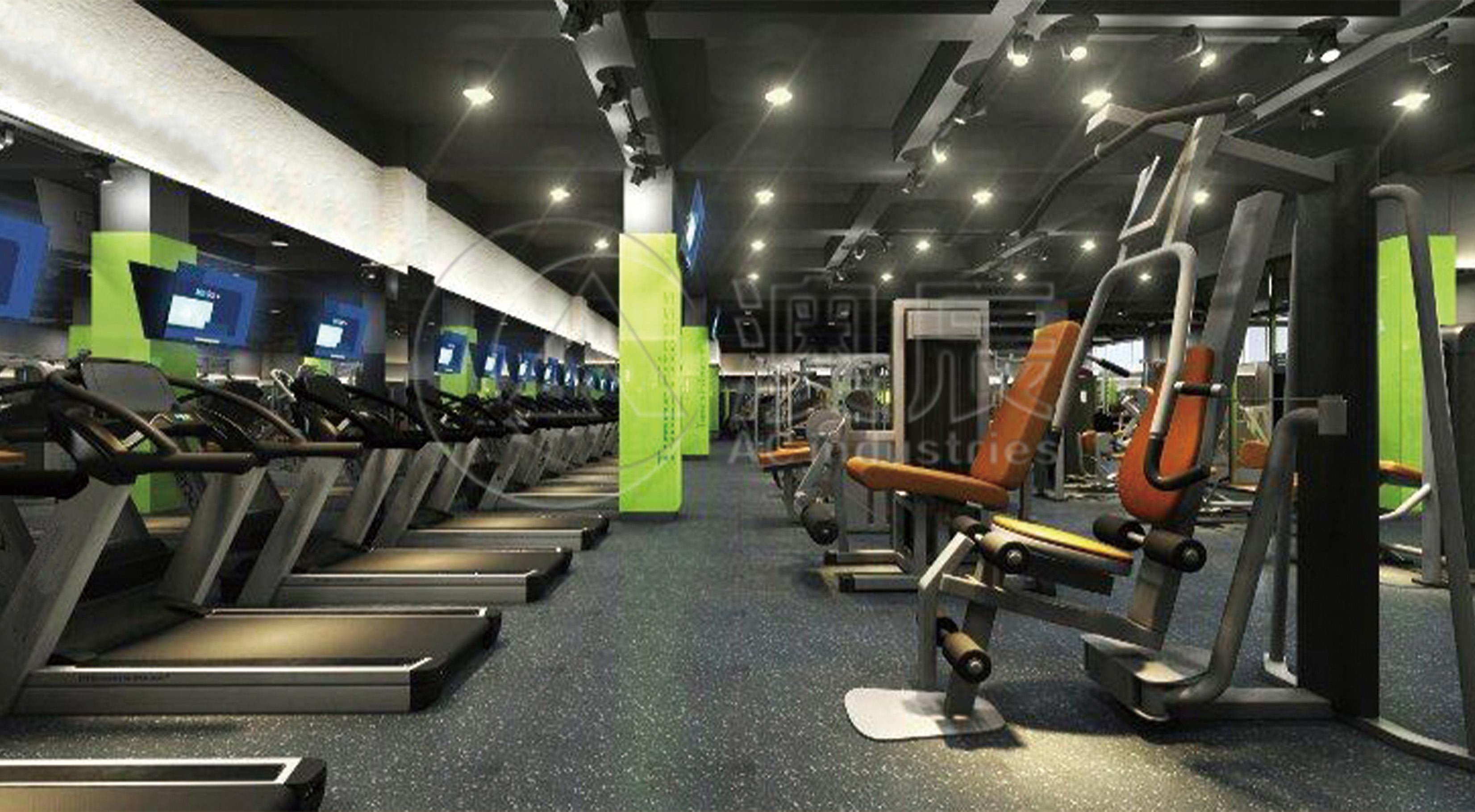 1403 Gym Flooring